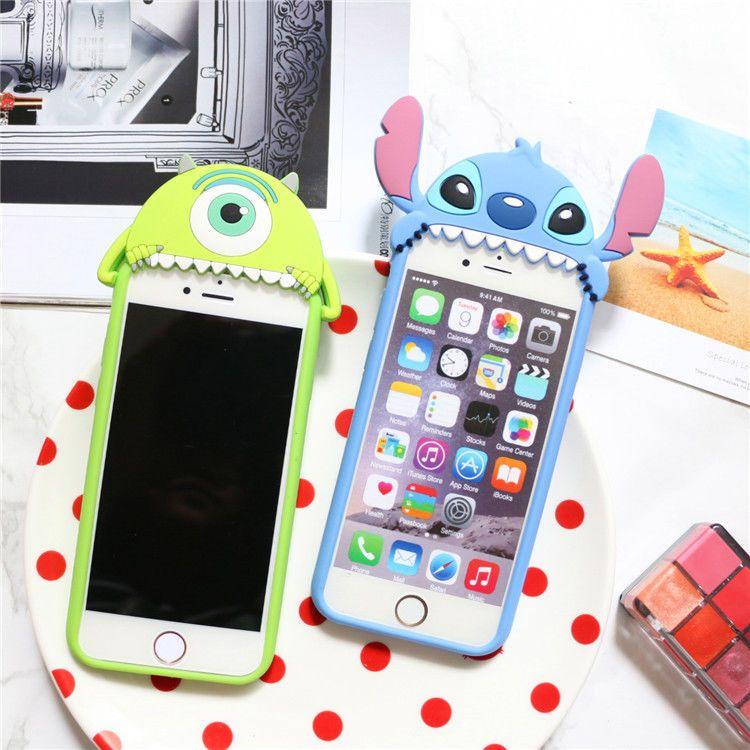 STITCH Iphone 7 8 Plus Carcasa Iphone XR cubierta de goma Lindo