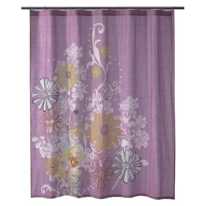 Purple Shower Curtain With Images Shower Curtain Purple