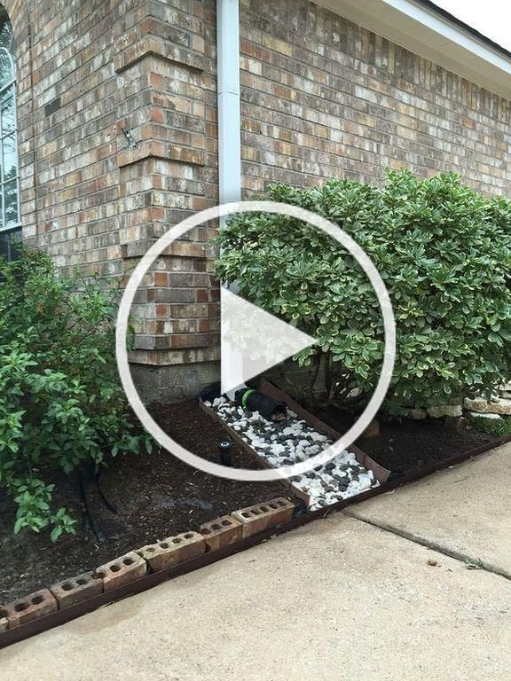 30 Gutter Drainage Ideas Commonly Used at Home in 2020 ...
