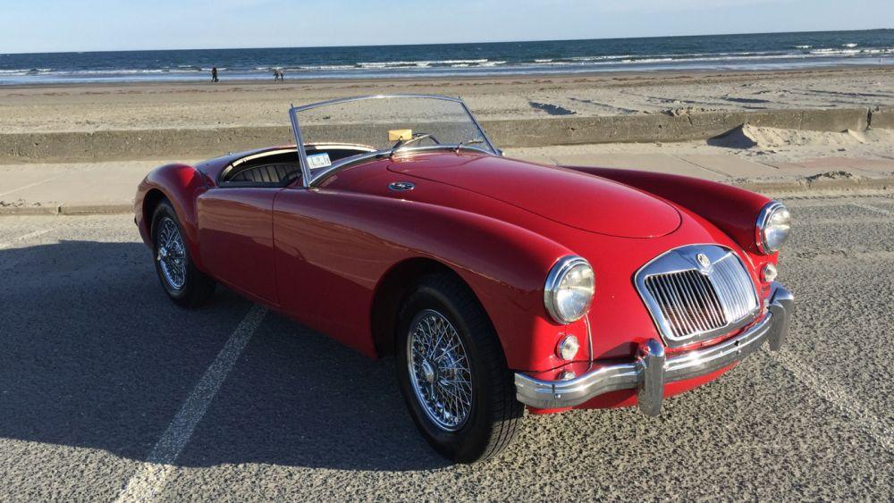 Hagerty S New Drivesahre Classic Car Rental A 1958 Mg Mga