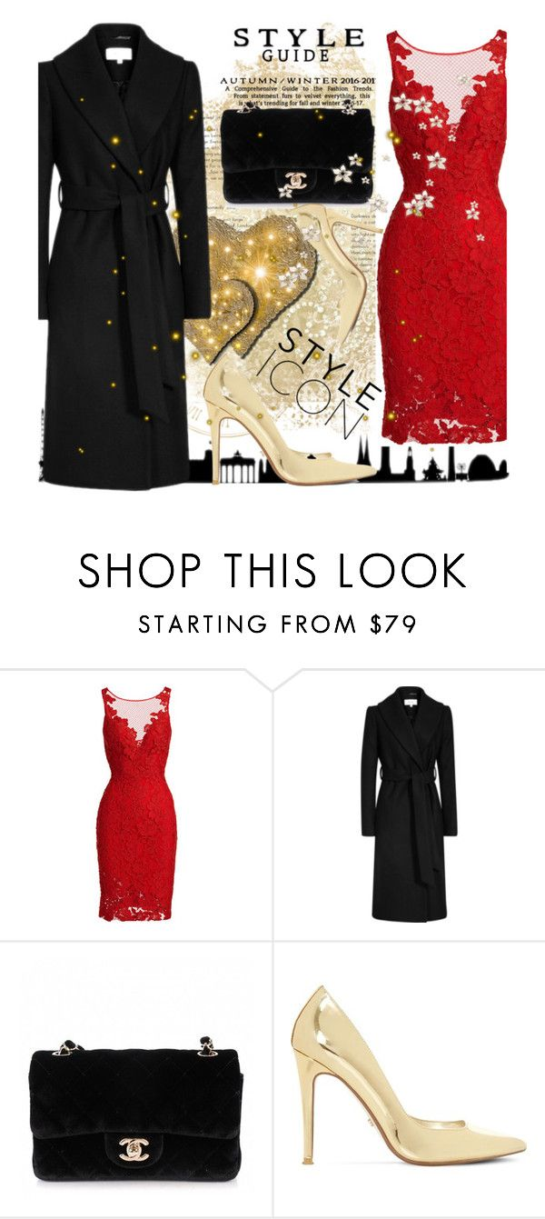 """Style Icon"" by vanessa-fashion123 ❤ liked on Polyvore featuring ML Monique Lhuillier, Chanel and Dune"