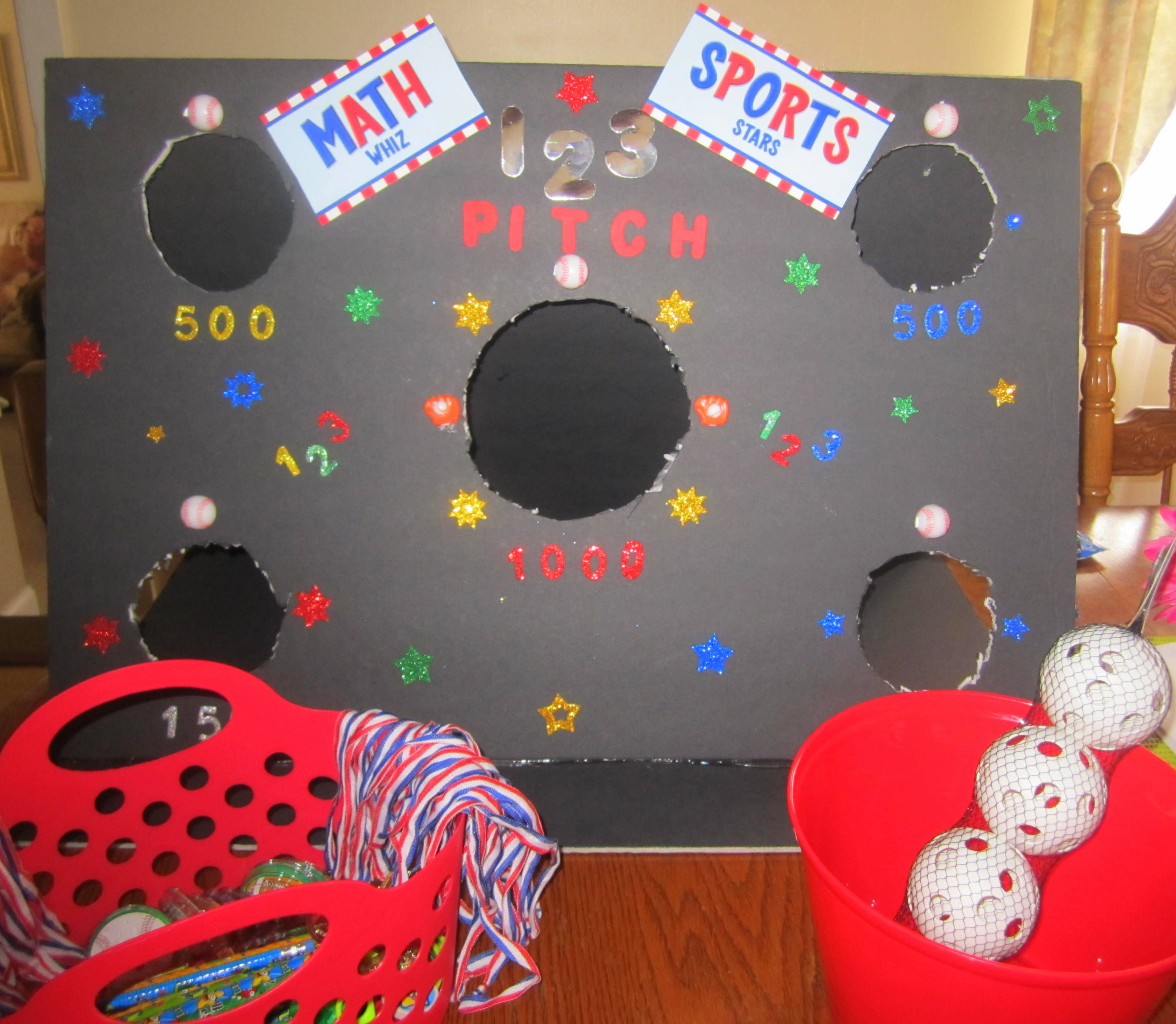 My sons Math Carnival game and prizes | My Side Projects Wedding ...