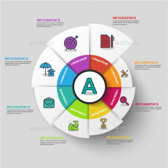 Abstract 3d Business Diagram Infographic Template Psd Vector Eps