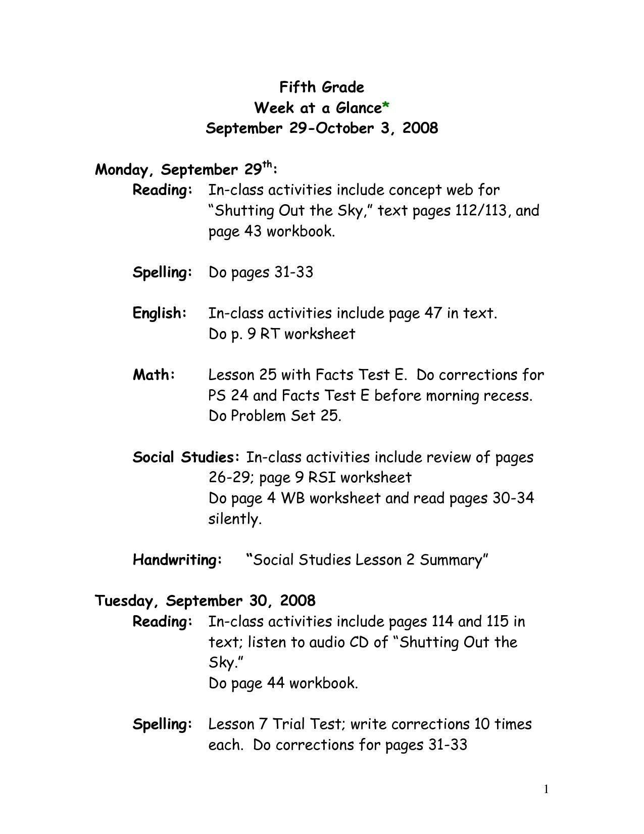 Printable Worksheets Of English Grammar In