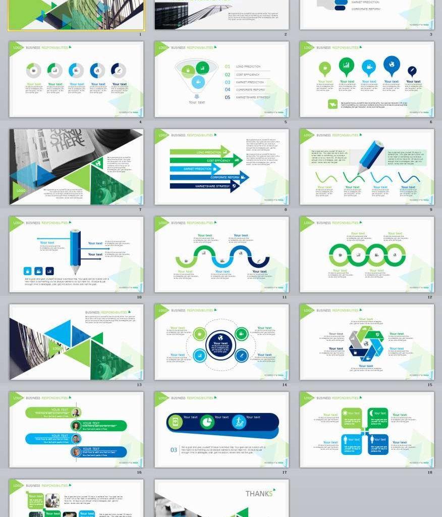 20 Green Report Powerpoint Presentation Template Business Presentation Templates Powerpoint Presentation Powerpoint Presentation Templates