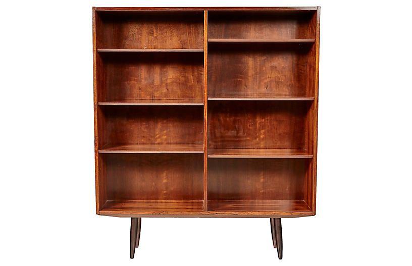Superieur 1960s Danish Rosewood Bookcase   2 B Modern