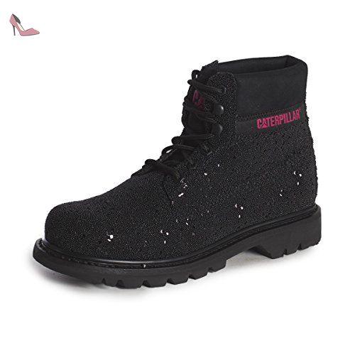 Caterpillar Colorado Black Glitter P308889, Boots 37 EU