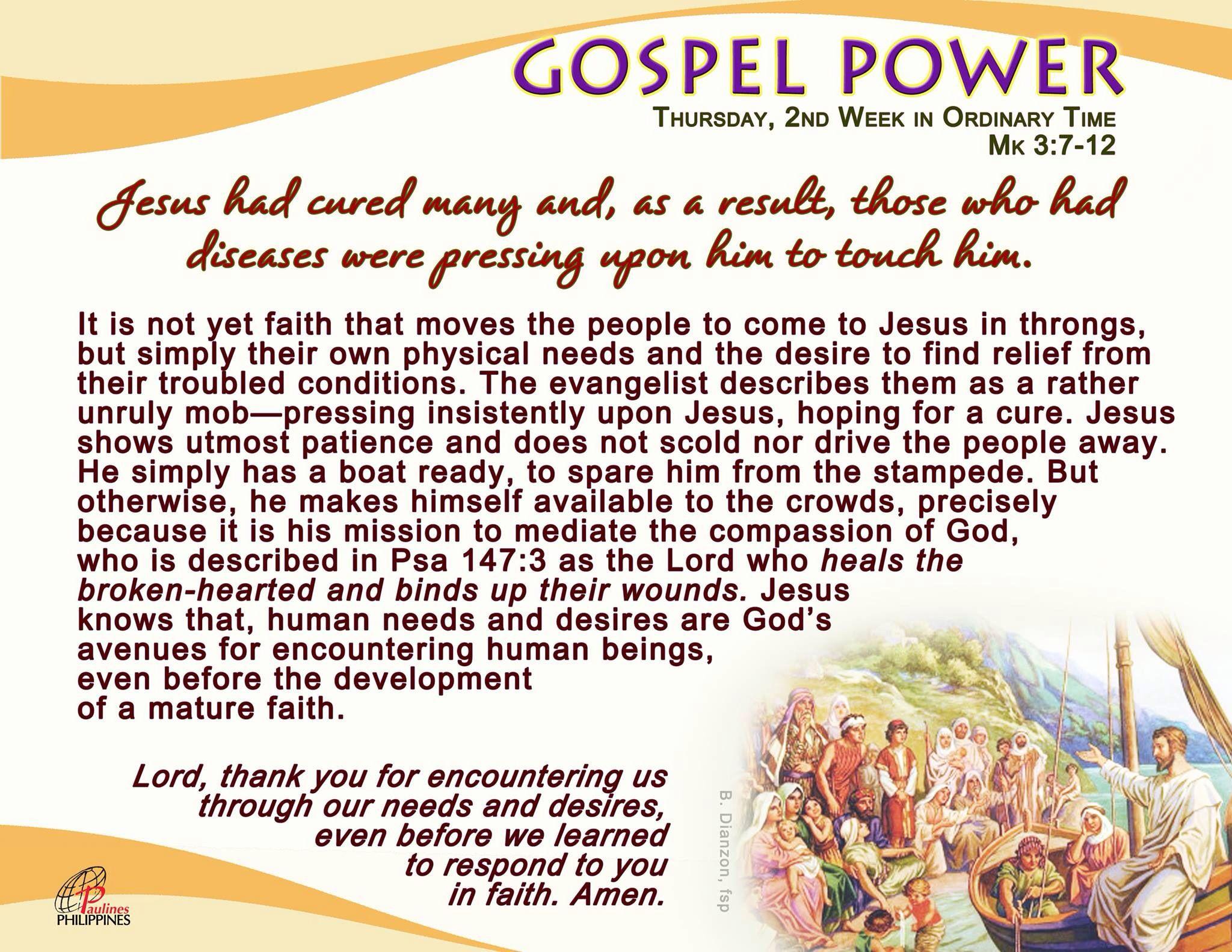 Gospel Power Jan. 21, 2016