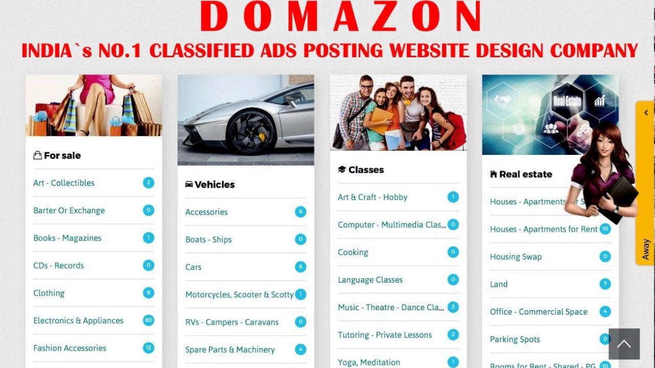 Tamil Nadu CLASSIFIED AD POSTING Website Design and Erode