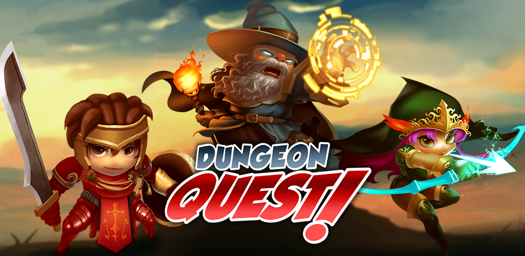 Dungeon Quest Dungeon, Quest Dungeon, Game logo, Game