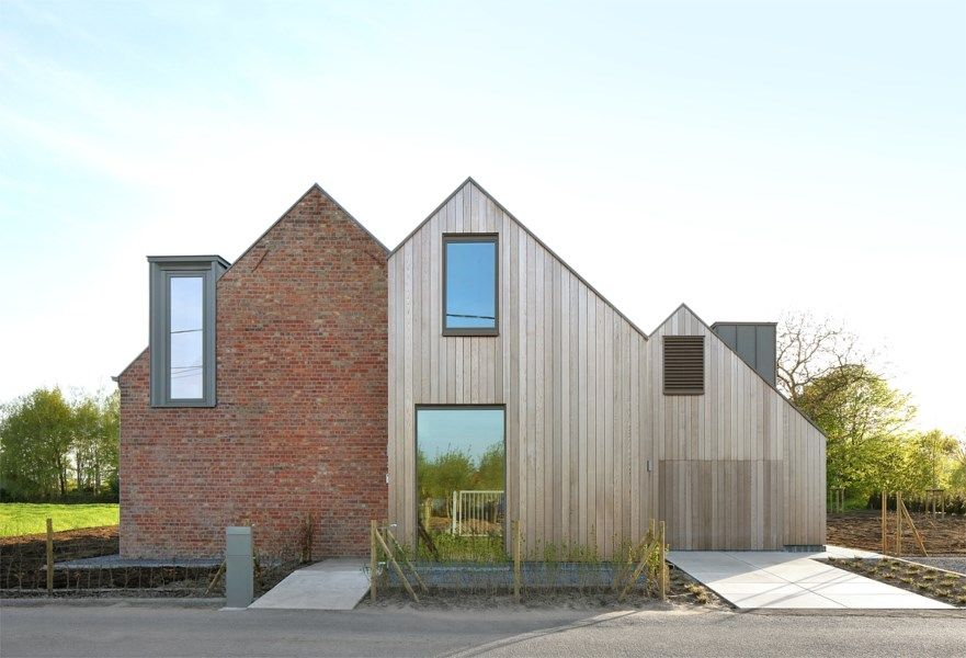 A contemporary angle Humble House Contemporary, House and