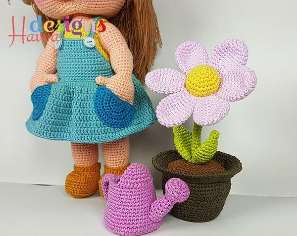 Mia The Gardener Amigurumi Crochet Pattern By Havva Designs Free