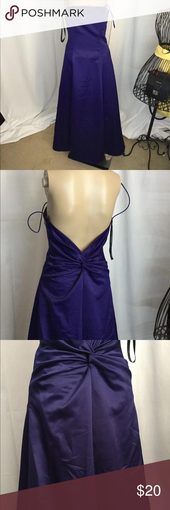 Niki size bluish purple formal dress in my posh picks