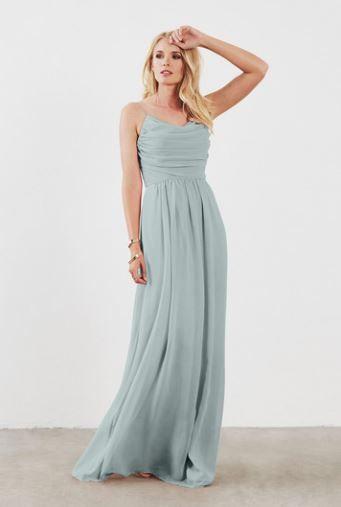 0e0c7f09a5 Bridesmaid dress color: Weddington Way. LILA in Seaside, men are in navy