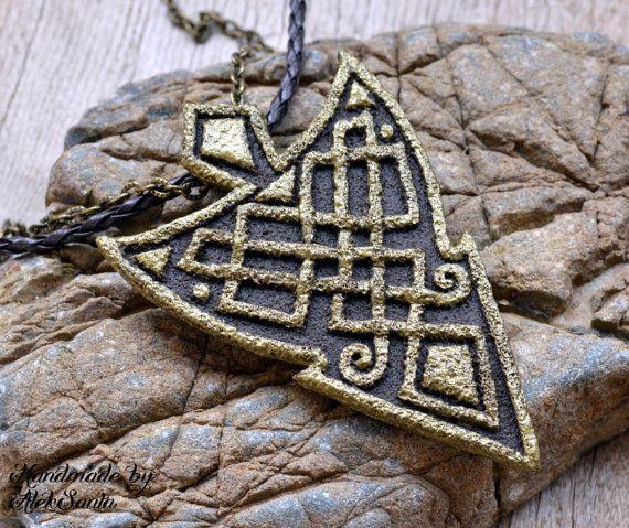 Unique necklace statement necklace unique jewelry unusual necklace unique necklace unique jewelry unusual necklace unusual jewelry statement necklace statement jewelry polymer clay jewelry for women hba aloadofball Image collections