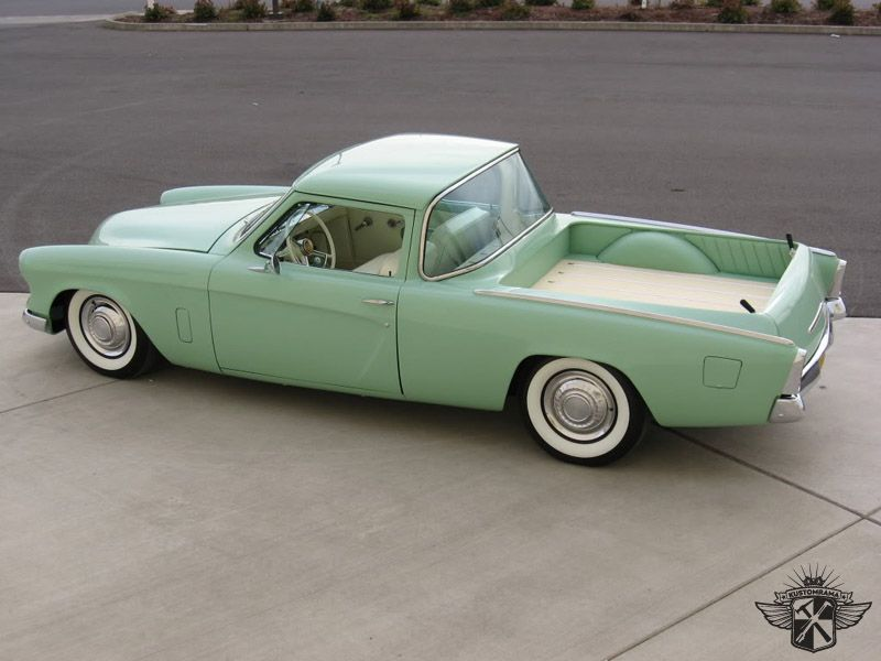 Lee Talbot, Sam Chakries) 1953 Studebaker Starlight Sport Coupe ...