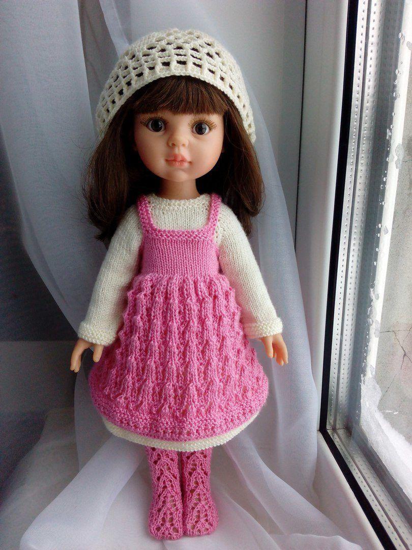 Испанские куклы Paola Reina   VK   Crochet doll clothes, Crochet clothes, Doll clothes