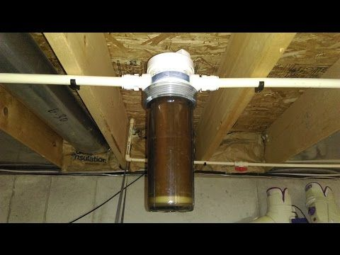diy cheap whole house water filter whirlpool ge lowes home depot ...