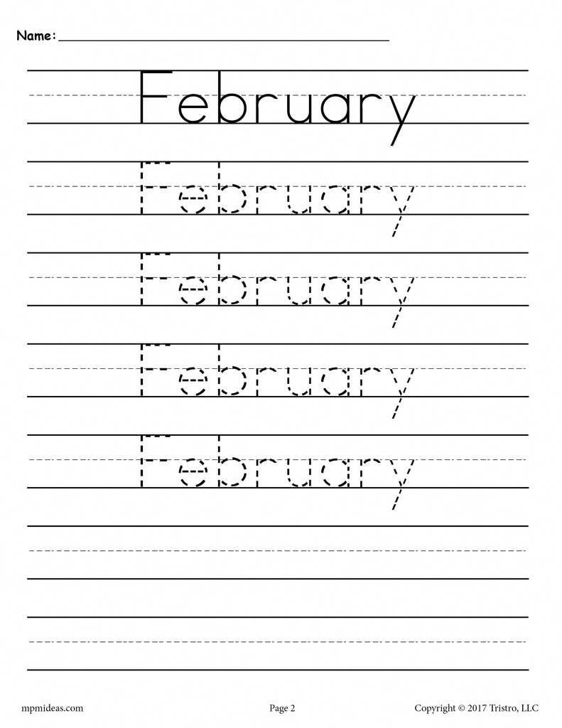 12 Free Months Of The Year Handwriting Worksheets Improveyourhandwriting Handwriting Analysis Free Handwriting Worksheets Handwriting Worksheets Printable handwriting practice year 2