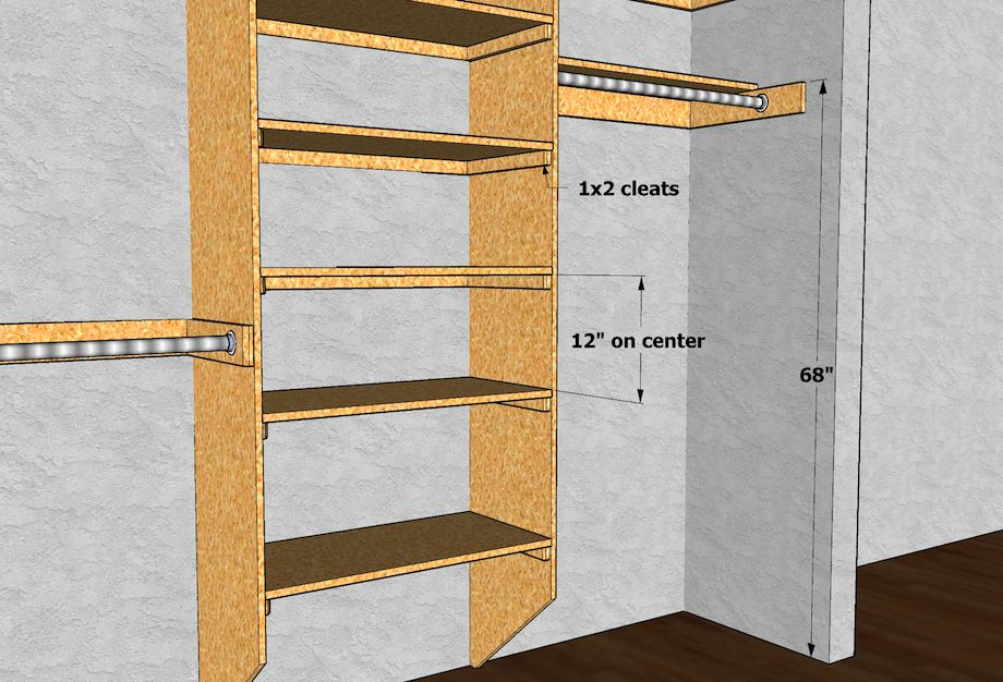 Great Website For Measurements If You Re Building Your Own Closet