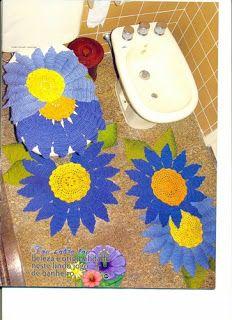 closet for crocheted napkin: أطقم كروشية رائعة للحمام