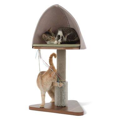 The Pampered Feline's Day Spa - Hammacher Schlemmer