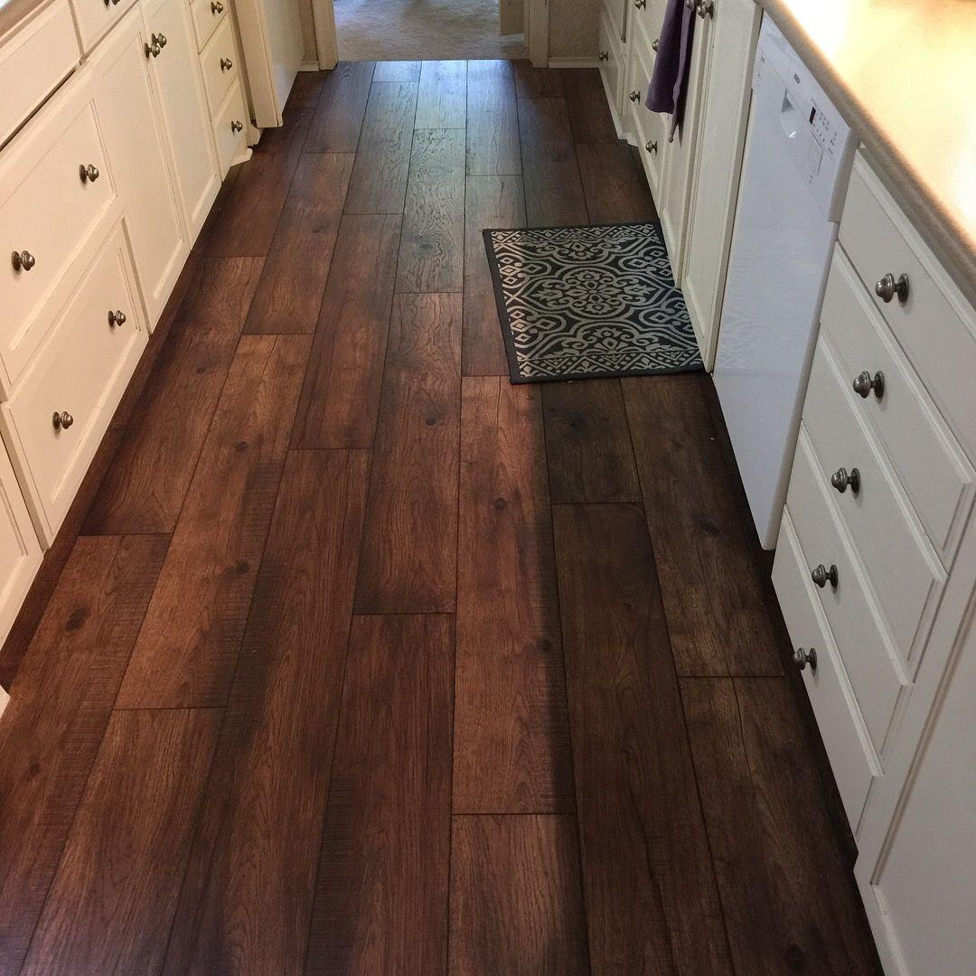 Laminate wood floors installed by Winston Floors