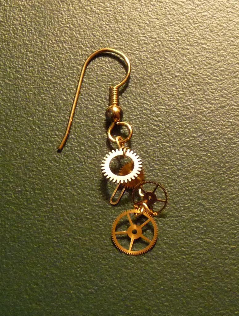Gearrings steampunk earrings steampunk earrings steam punk and 4 diy steam punk earrings and ear cuffs ingrid hasselbaum baditri Choice Image