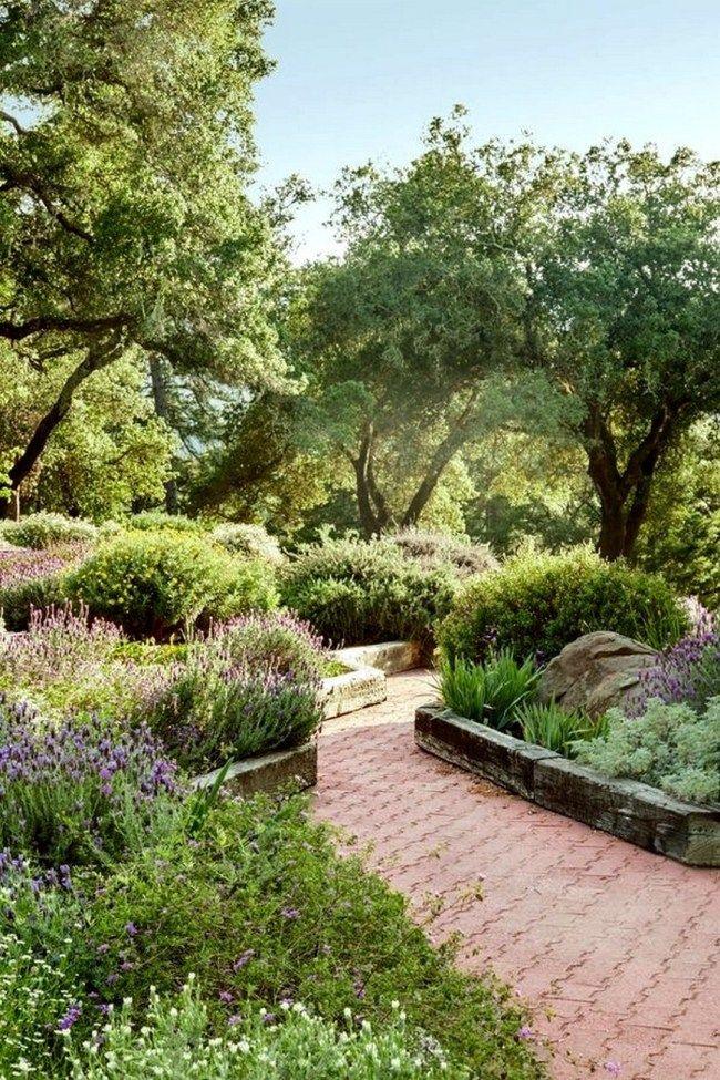16 Modern Landscaping Mediterranean Garden Ideas  Onechitecture
