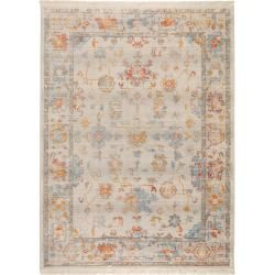 benuta Teppich Safira Multicolor 100x156 cm - Vintage Teppich im Used-Look benuta