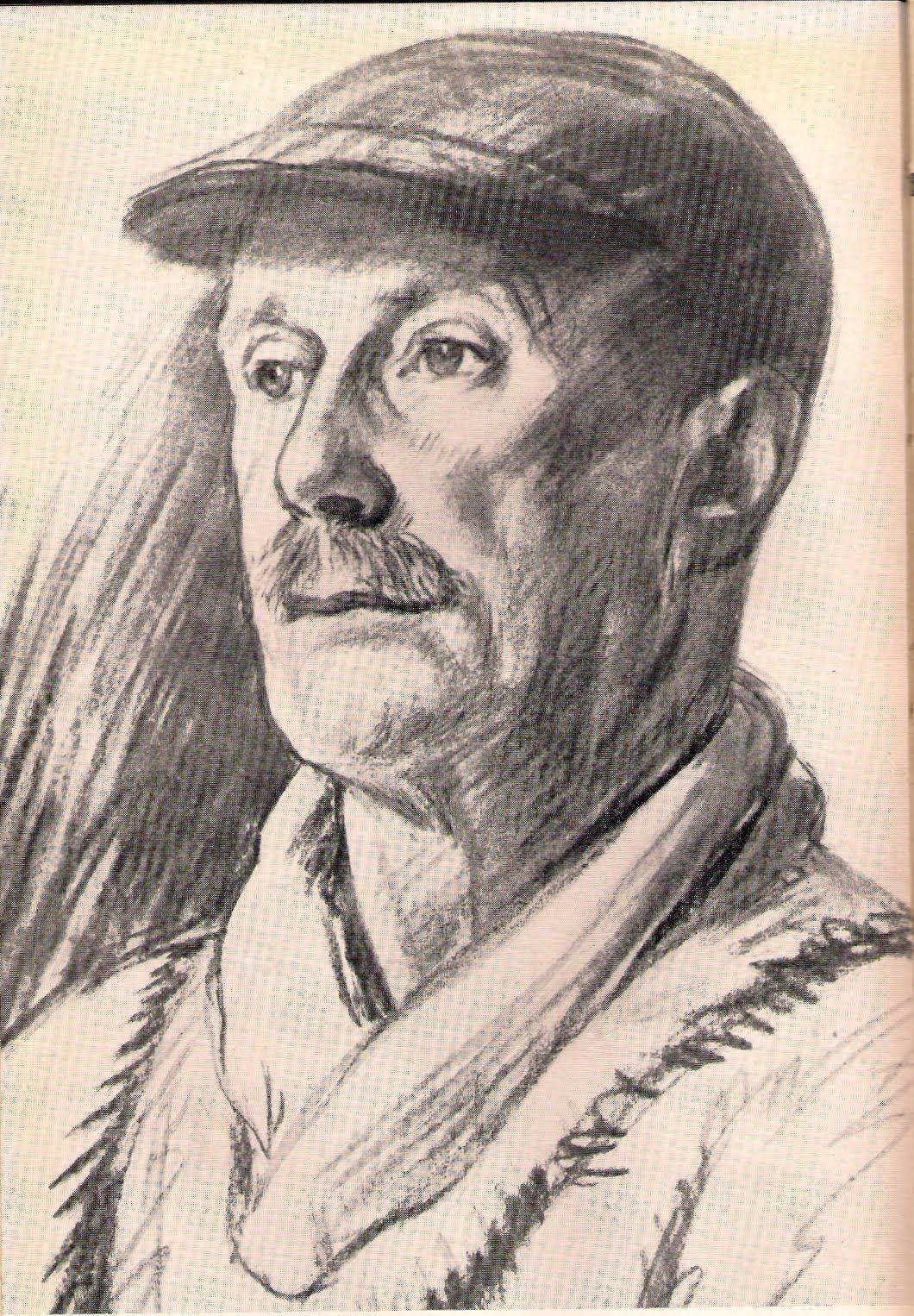 Thomas Eakins Portrait Drawing