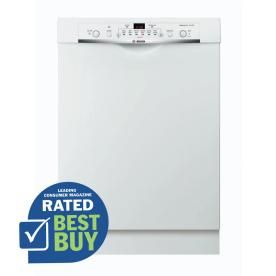 Bosch Ascenta 50 Decibel Built In Dishwasher With Stainless Steel