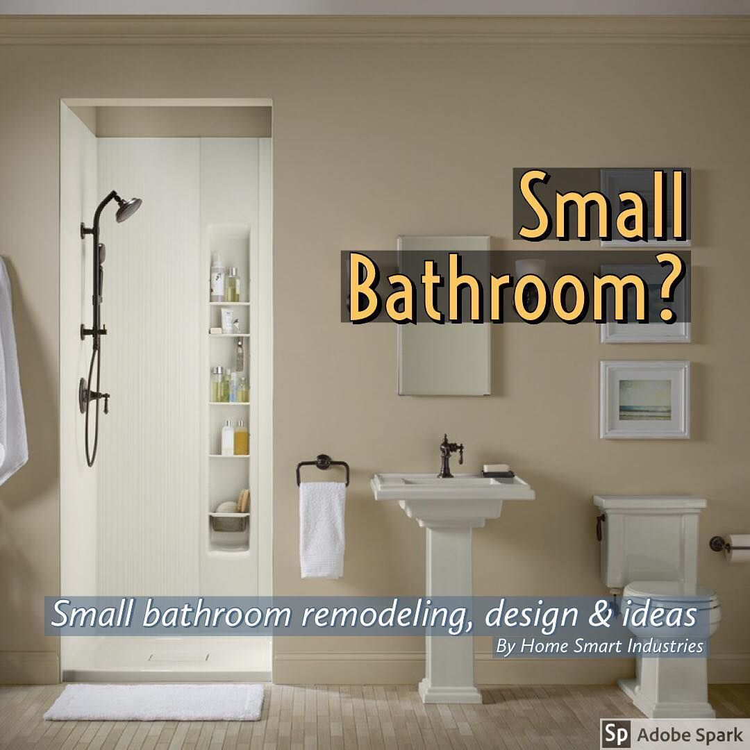 Small Bathroom Shower Enclosures Having A Small Bathroom And Keeping It Organized And Functional Can Seem Like An Impossible In 2019 Bathroom Design Small Small Bathroom Small Bathroom With Shower