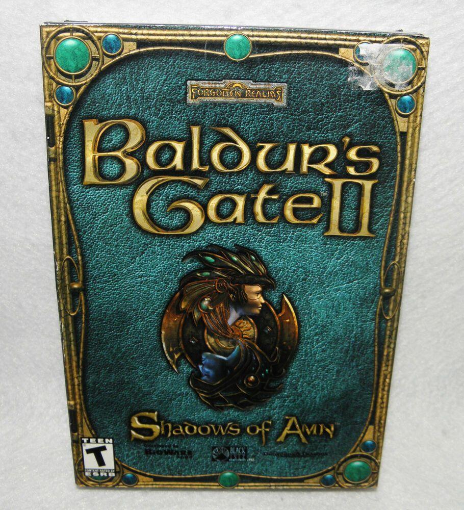 Baldurs Gate 2 Ii Shadows Of Amn Original 2000 Brand New Sealed Pc