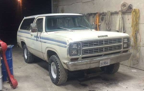 1979 Paxton Il Dodge Ramcharger Dodge Power Wagon