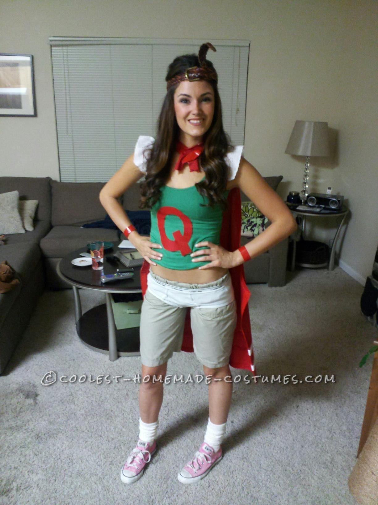 Original Doug Funnie's QuailWoman Costume... This website ...
