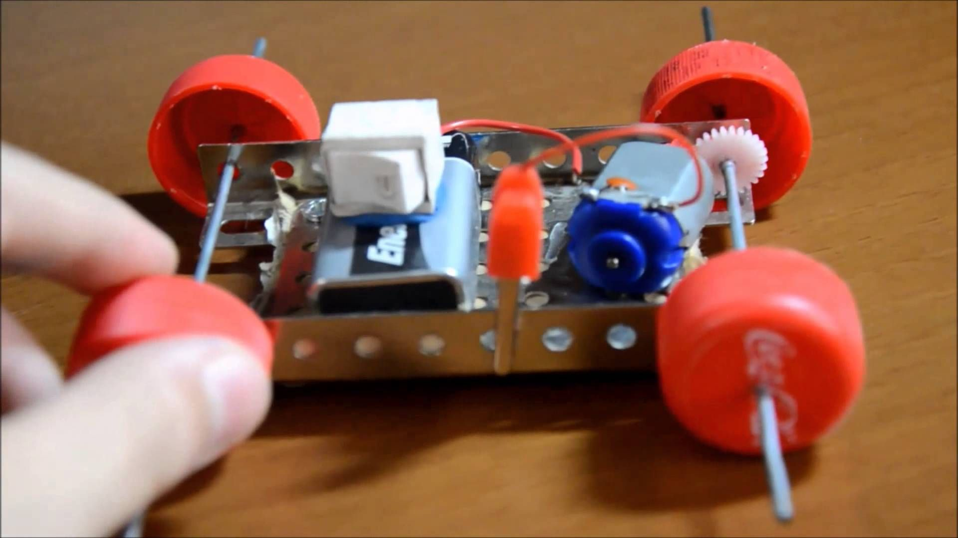 This is my electric car you can build in home conditions