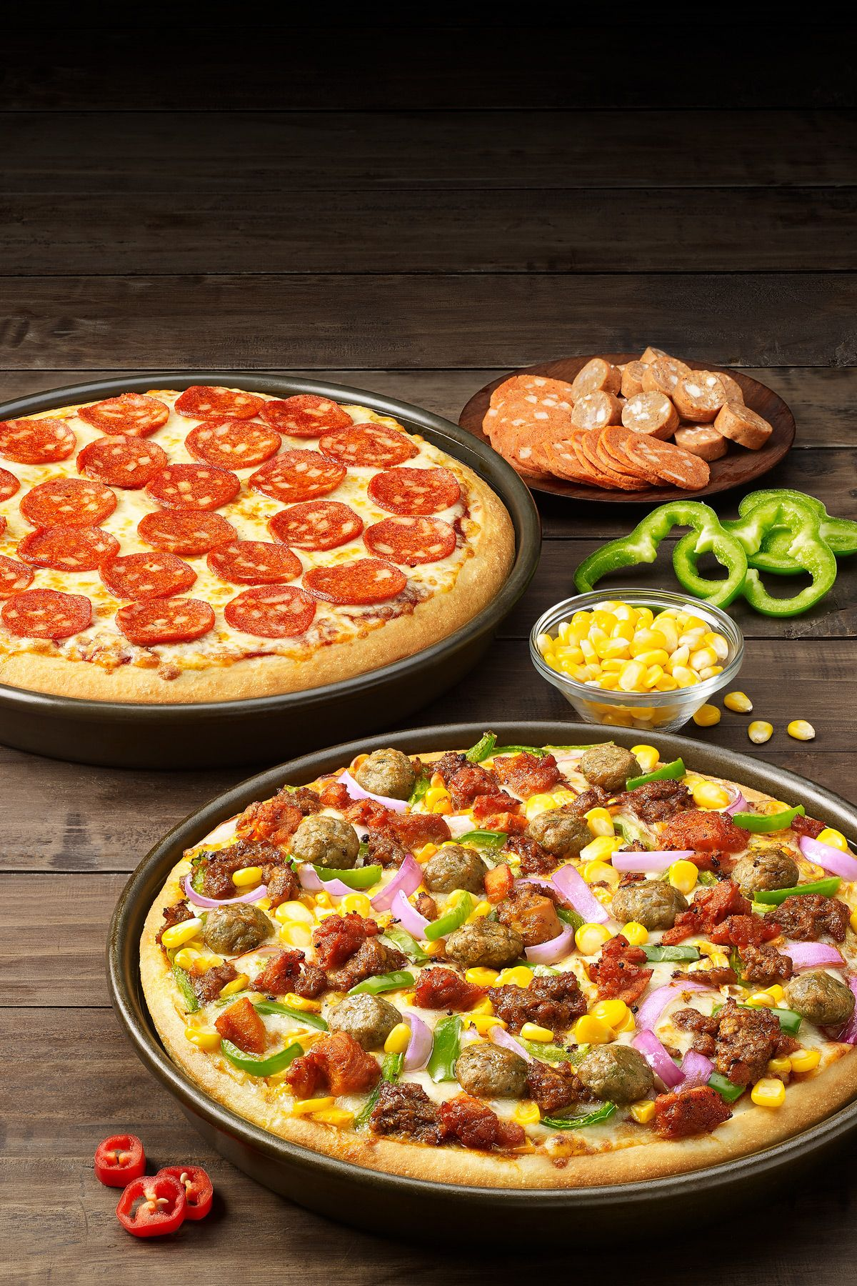Pizza Hut New Menu Pan Pizzas On Behance Pan Pizza Pizza Hut Pan Pizza Bistro Food