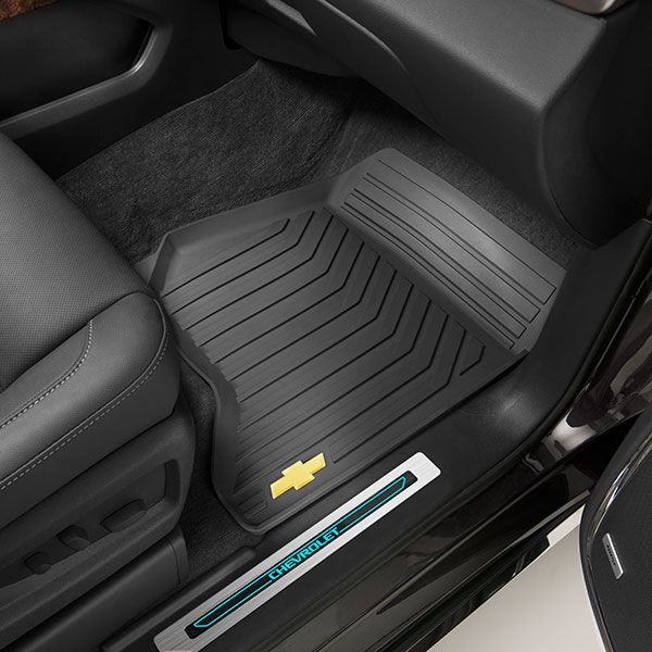 2015 Suburban Floor Mats Premium All Weather Front Black W