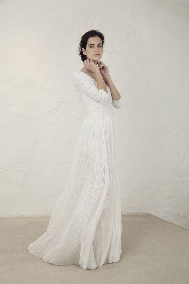 113470203ea1b cortana vestido novia original romántico bohemio boda blog ...