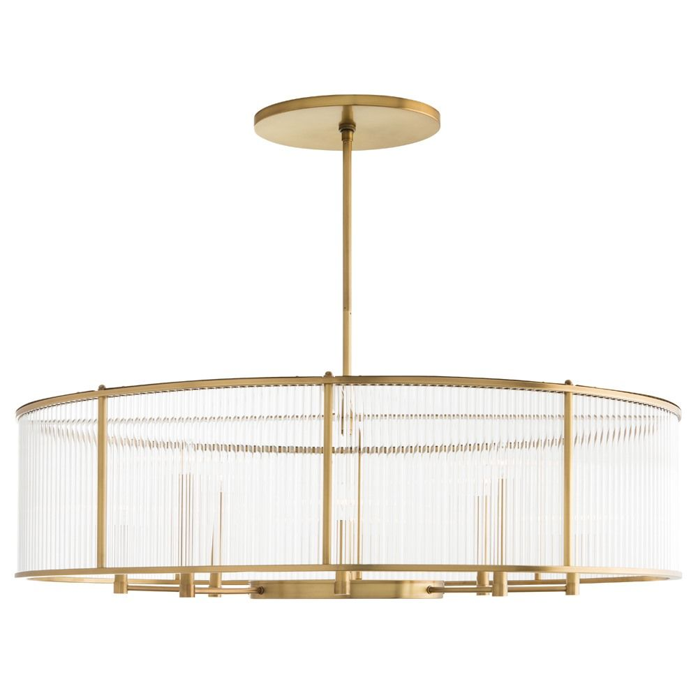 Hera Oval Chandelier By Arteriors Home