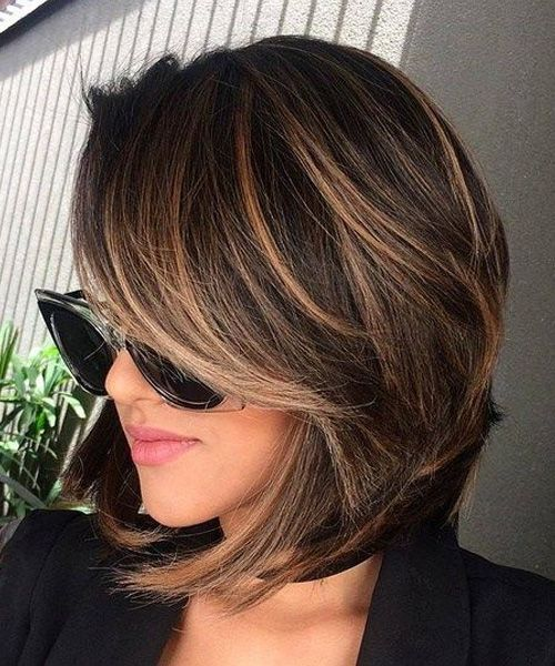 2017 Hairstyles For Fine Hair For Women Haircuts Short Hair Styles Brunette Hair Color Hair Styles
