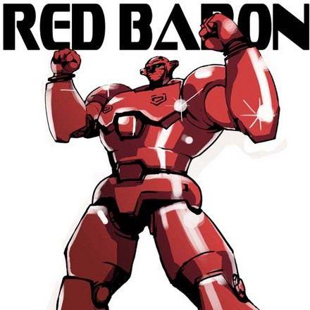 El Baron Rojo Robot Anime