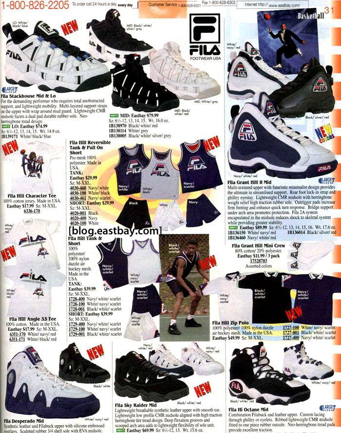 EASTBAY - 1996 - FILA | Sneakers
