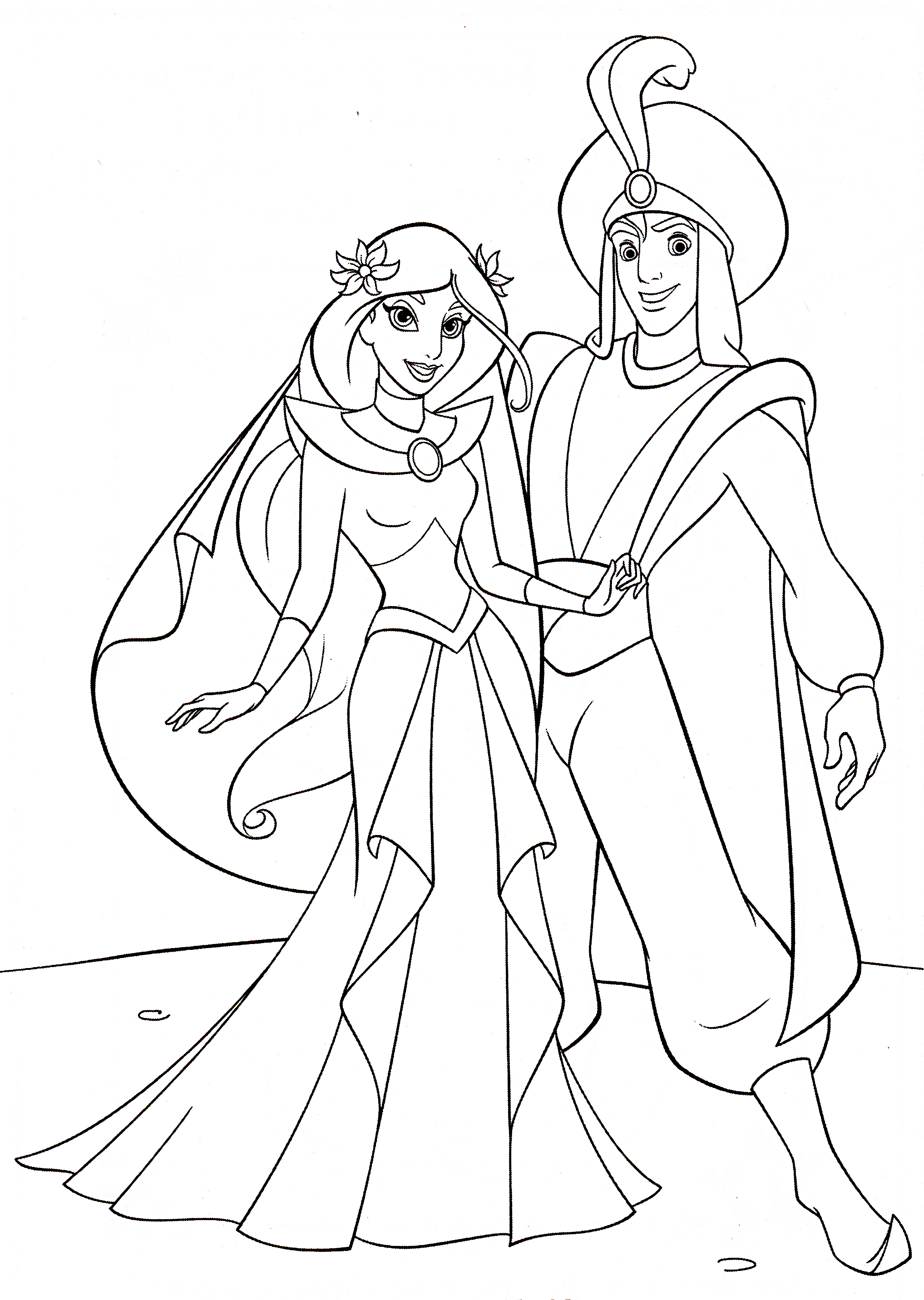 Coloring Pages Aladdin Yahoo Image Search Results Coloring