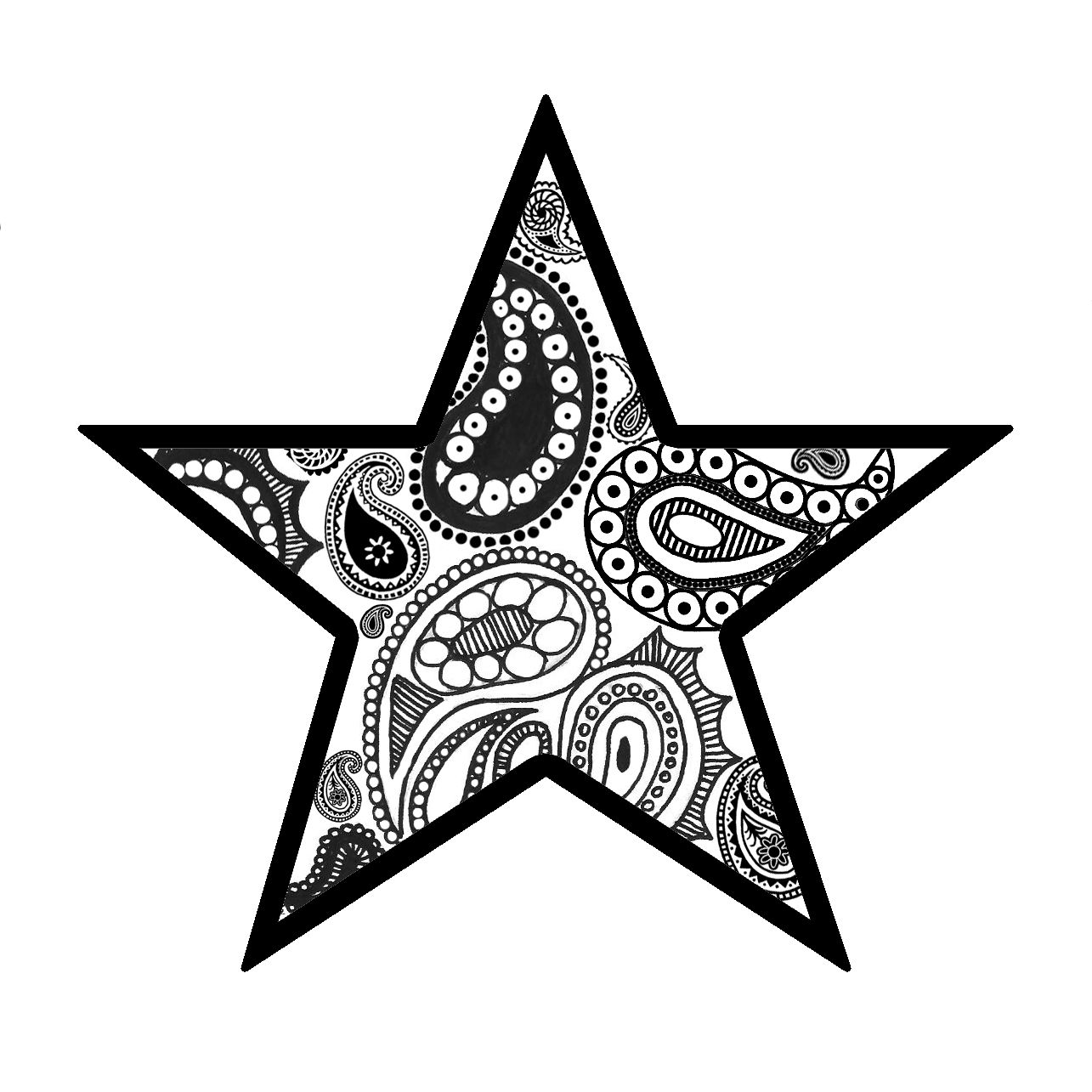 I maaaaaaaaaay have just found the star tattoo for me