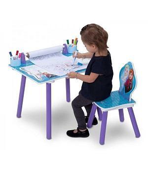 mesa escritorio para niñas y silla