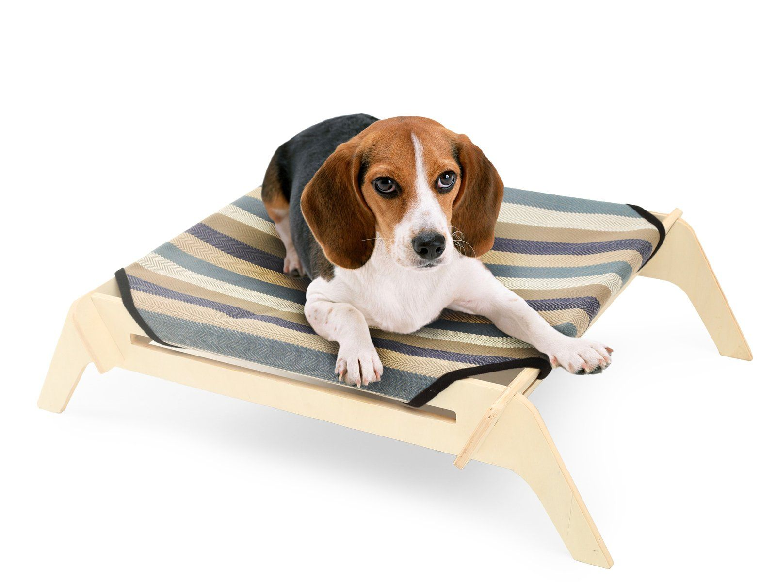 [OVERSTOCK SALE] PLS Pet Wooden Elevated Dog Bed Small Pin