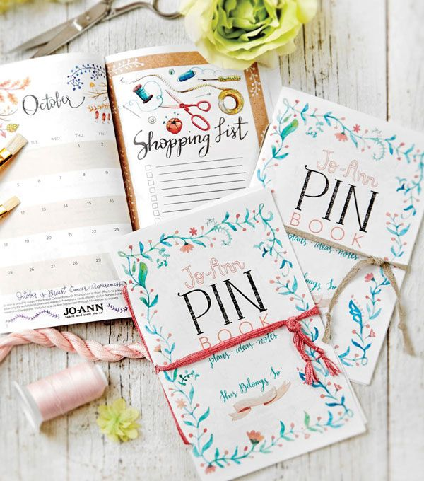 Free Printable The PIN Book Monthly Planner Planners  Bullet