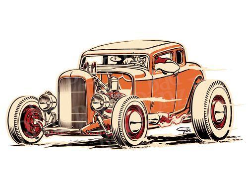6 Views Cool Car Drawings Hot Rods Cars Art Cars